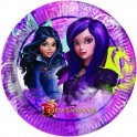 Set 8 farfurii party 23 cm Descendants