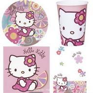 Set petrecere Hello Kitty Bamboo 10 copii