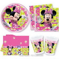 Set petrecere Minnie Bow-Tique 8 copii
