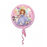 Balon folie 45 cm Sofia I Happy Birhday