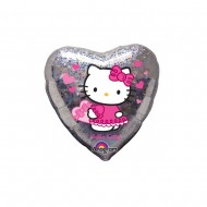 Balon Hello Kitty - Hearts