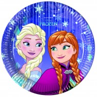 Farfurii 20 cm Frozen Snowflakes