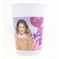 Pahare party Violetta Gold