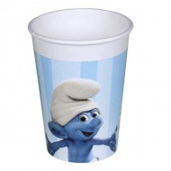 Pahare plastic Smurfs