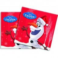 Servetele party Olaf Christmas
