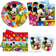 Set petrecere Mickey Mouse Party Time 10 copii