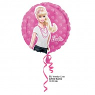 Balon folie Barbie