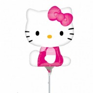 Balon mini figurina 24 cm, Hello Kitty