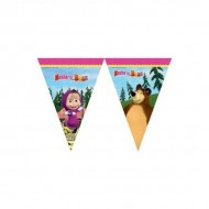 Banner stegulete Masha and the Bear