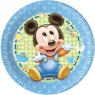 Farfurii 20 cm Mickey Baby