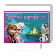 Lumanare Frozen Happy Birthday