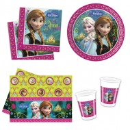 Set petrecere Frozen 8 copii
