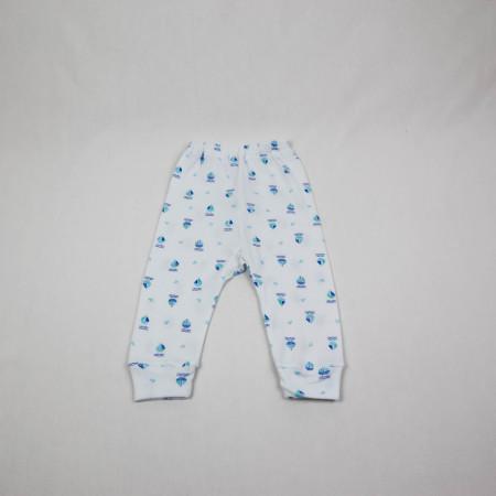 Multipack Pantaloni cu Manseta 10 Bucati Cu Imprimeuri 0-18 Luni