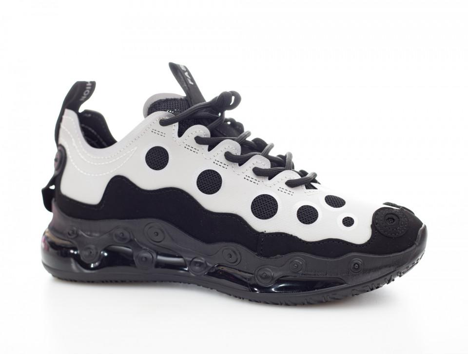Adidasi barbati Chain Dots albi A3