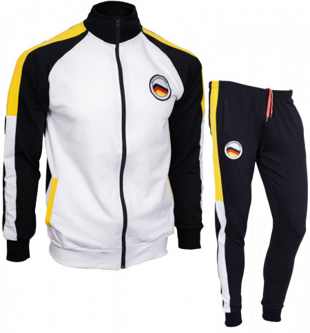 Trening bumbac slim fit B25
