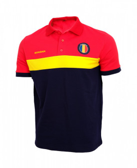Tricou barbatesc polo Romania model N56