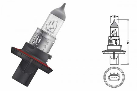 Bec H13 12V 60/55W P26.4t