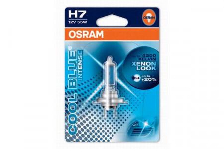 Bec H7 12V 55W PX26d COOL BLUE INTENSE (BLISTER)