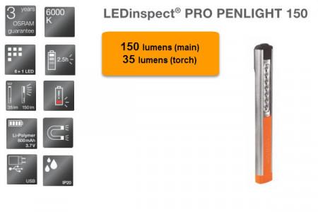 Lampa service LED reincarcabil