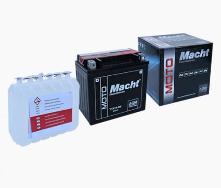 Baterie auto MACHT AGM 12 Ah 12 V