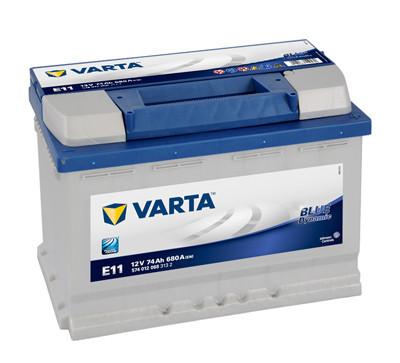 Baterie auto VARTA BLUE DYNAMIC 74 Ah