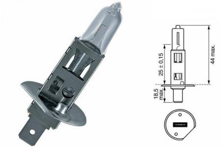Bec H1 12V 55W P14,5s Blue Effect