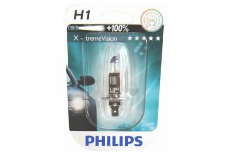 Bec H1 12V 55W P14,5s X-TREME VISION (BLISTER)