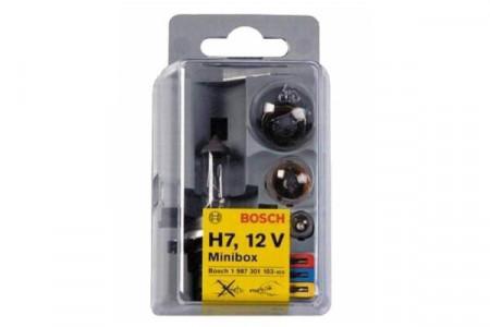 Set becuri MINIBOX H7