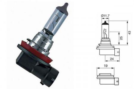 Bec H11 12V 55W PGJ19-2