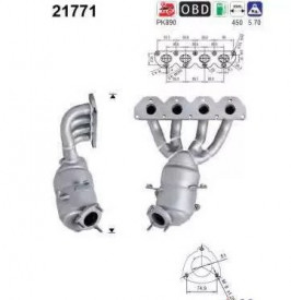Catalizator Alfa Romeo 159 2007 - 2011
