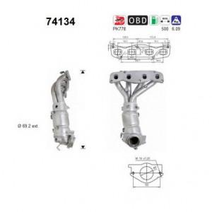 Catalizator Nissan X-trail 2001-2013