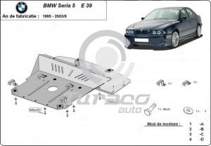 Scut motor metalic BMW Seria5 E39