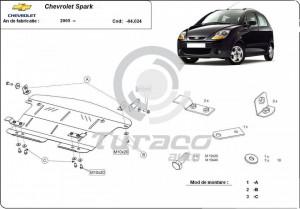 Scut motor metalic Chevrolet Spark I