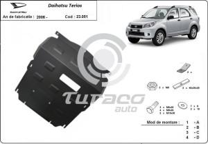 Scut motor metalic Daihatsu Terios
