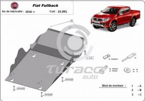 Scut motor metalic Fiat Fullback