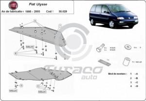 Scut motor metalic Fiat Ulysse