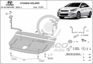 Scut motor metalic Hyundai Solaris