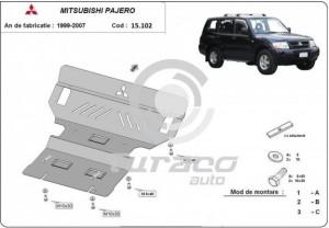 Scut motor metalic Mitsubishi Pajero III