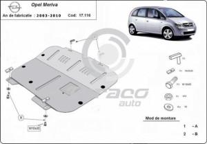 Scut motor metalic Opel Meriva A