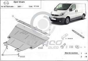 Scut motor metalic Opel Vivaro
