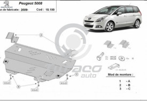 Scut motor metalic Peugeot 5008