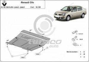 Scut motor metalic Renault Clio
