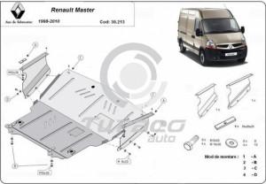 Scut motor metalic Renault Master
