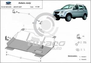 Scut motor metalic Subaru Justy