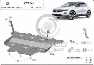 Scut motor metalic Volkswagen T-Roc
