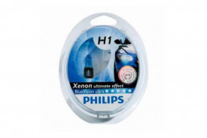 Set de 2 becuri H1 12V 55W P14,5s BLUE VISION ULTRA