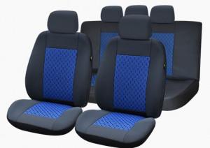 Set huse scaune Lux albastru