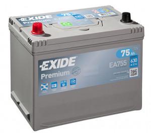 Baterie auto EXIDE PREMIUM 75 Ah