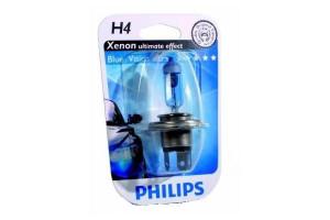 Bec H4 12V 60/55W P43t BLUE VISION ULTRA (BLISTER)