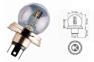 Bec R2 24V 55/50W P45t
